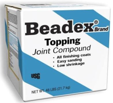 Beadex topping joint compound