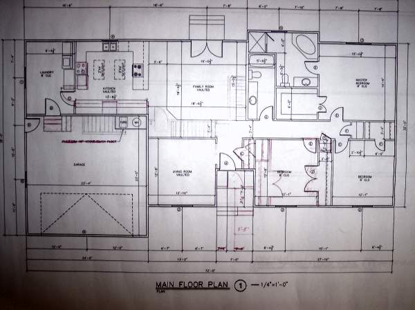 Floor plan blueprint template thefloors co Residential building plan sample