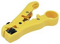 Cable jacket stripper