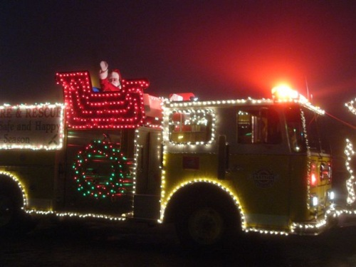 Christmas Truck Decorations Decorations Xmas Fire Truck