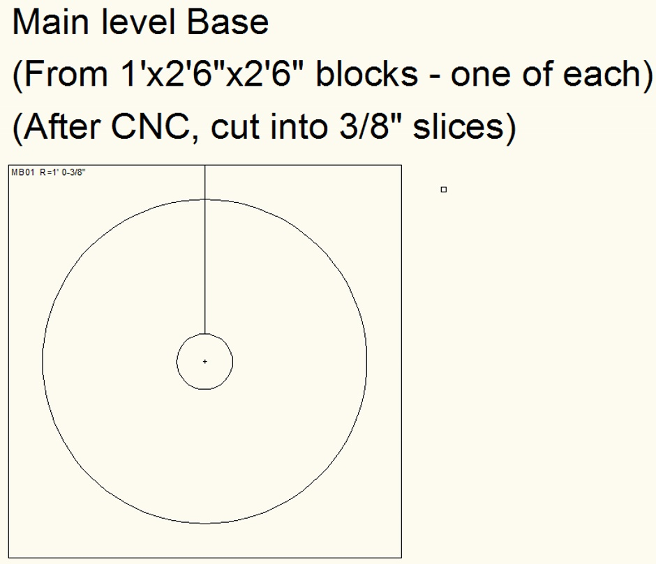 Column Main Base Cnc One Example