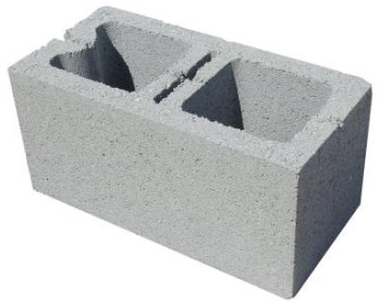 Concrete block 8x8x16