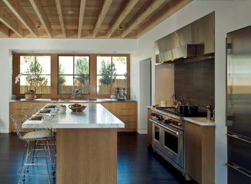 Design Idea Wooden Ceiling Beams