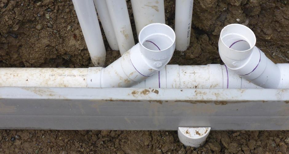 Foundations Under Slab Plumbing