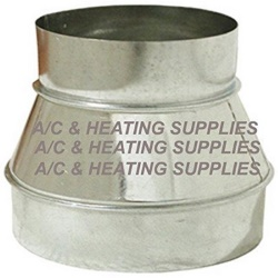 Duct Reducer 6in 8in
