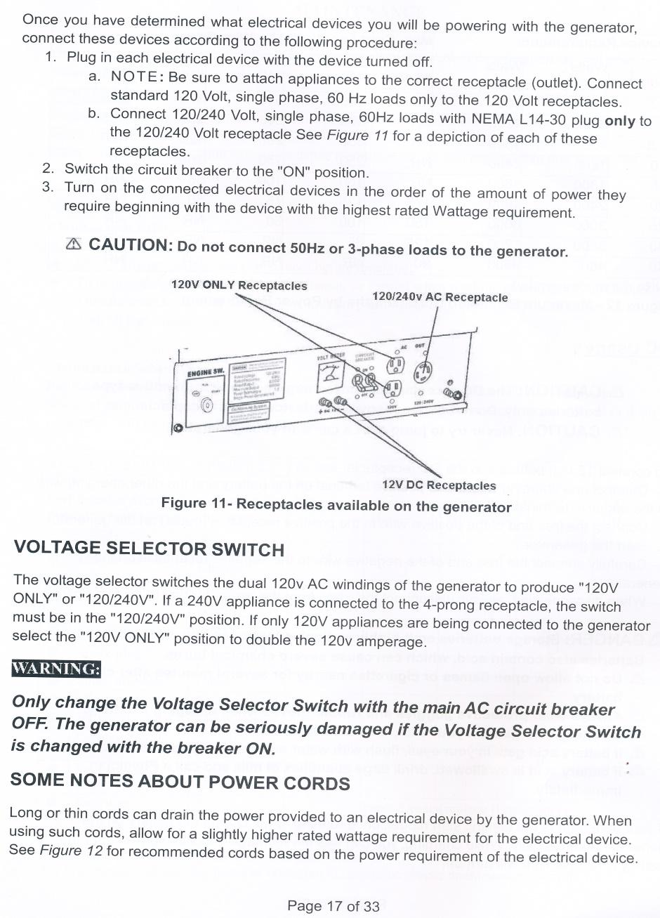 Electrical Generator Duromax Wiring Diagram