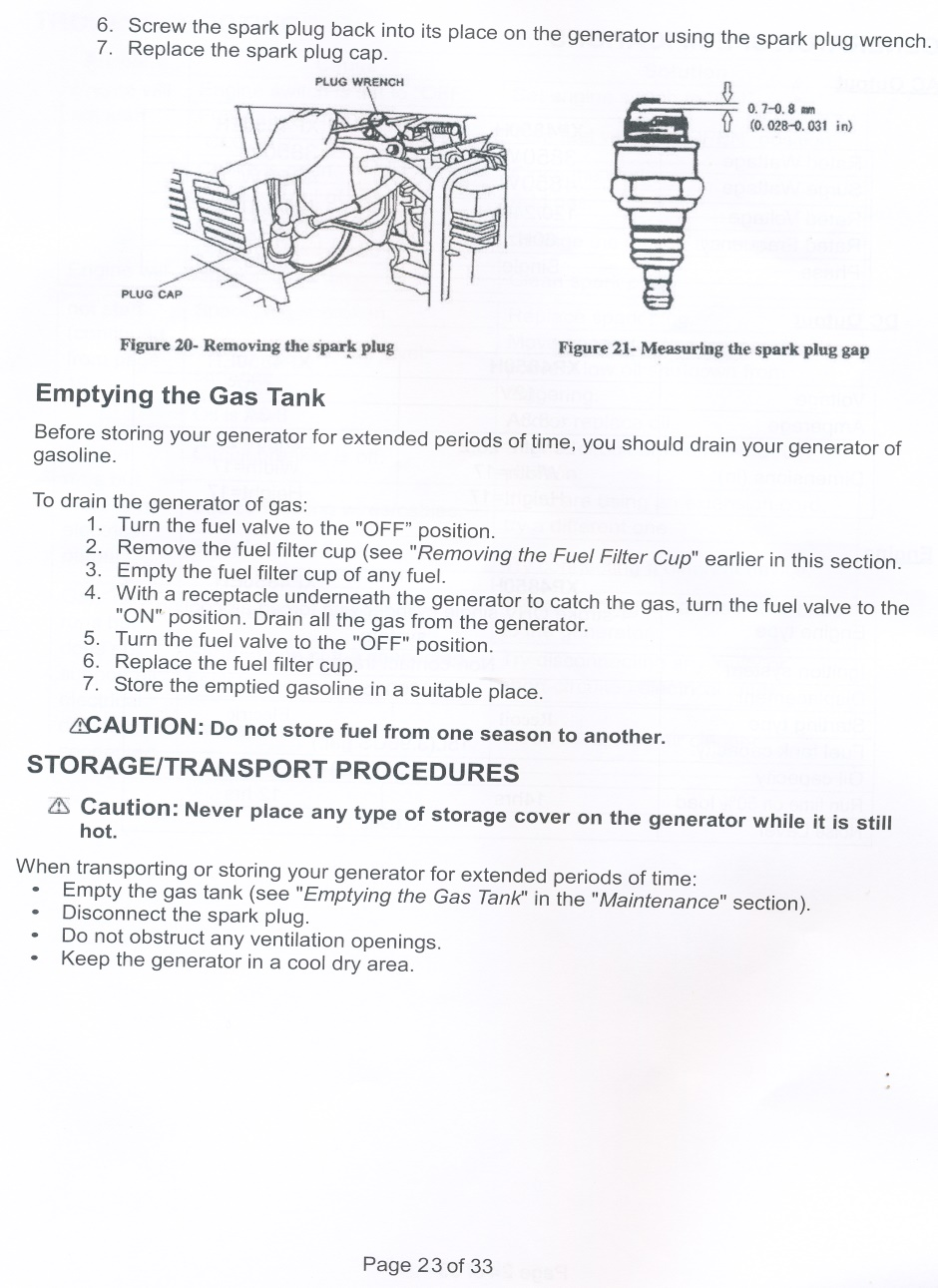 Electrical - Generator