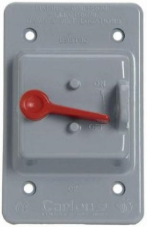 Electrical - External Switch Cover