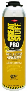 Foam GreatStuff Wall Floor Adhesive