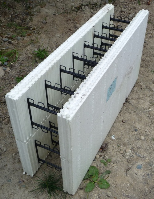 Materials - ICF (Insulated Concrete Forms)