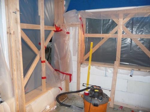 Basement Walls and Ceiling - Icf, Rebar, Bucking, Bracing