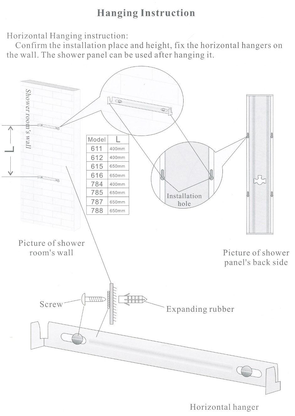 Integrated Shower Assembly