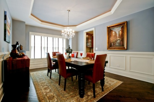 Interior design - Wainscot