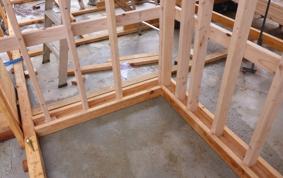 Internal Wall Framing In U