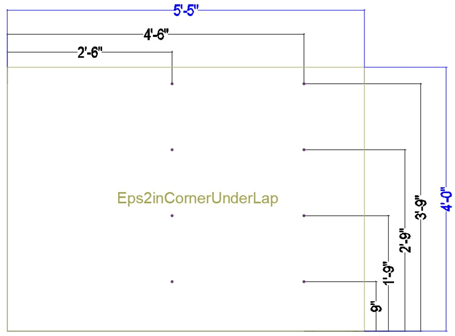 Jig 2in Eps Corner Under-Lap