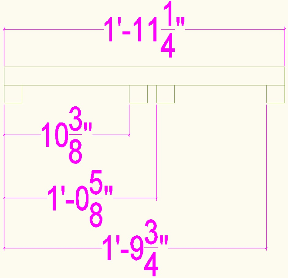 Jig For Setting Extra Low Rebar Ext