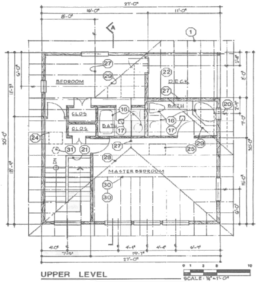 House Blueprints Examples Diagram Showing An Example Of A Floor Plan King County Bedroom Level