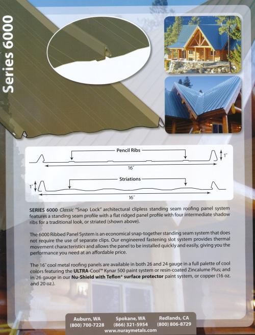 Metal Roof Nu Ray Brochure