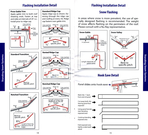 Metal Shingle Installation : Metal roofing