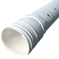 Perforated drain pipe
