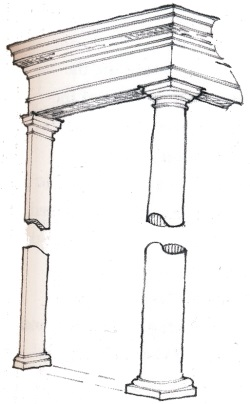 Pilaster deck support
