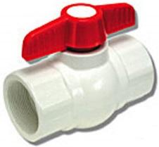 Plumbing shutoff tap pvc three quarter inch for Pvc vs cpvc vs pex