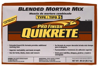 Quikrete Stucco Mortar