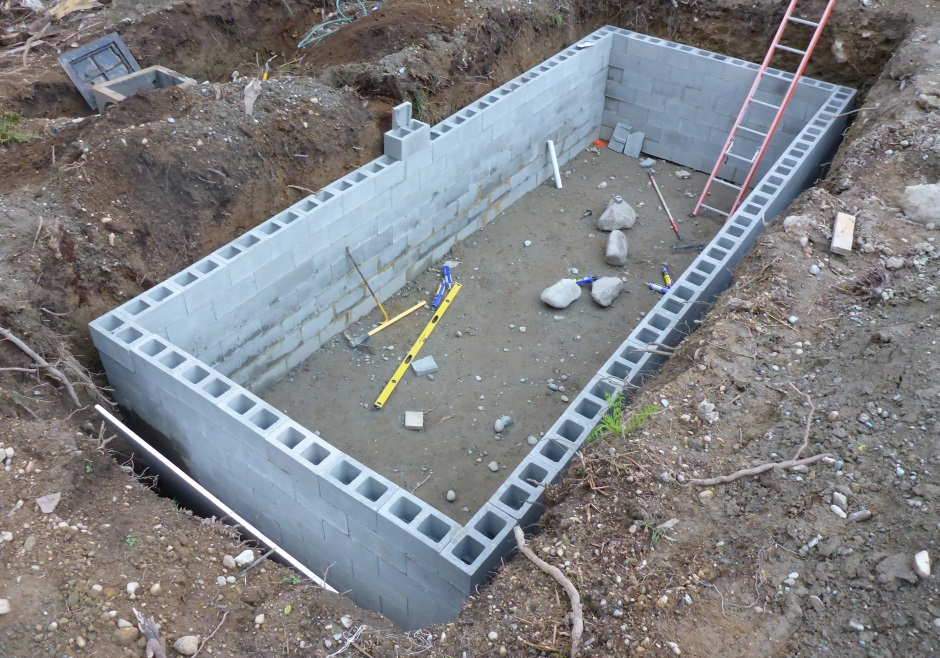 In Ground Water Tank Concrete Round Designs