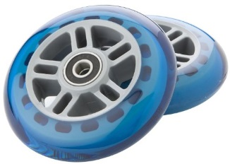 Scooter Wheels Pair