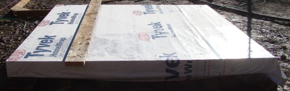 Shed Floor Insulation Shed Tyvek Under Floor