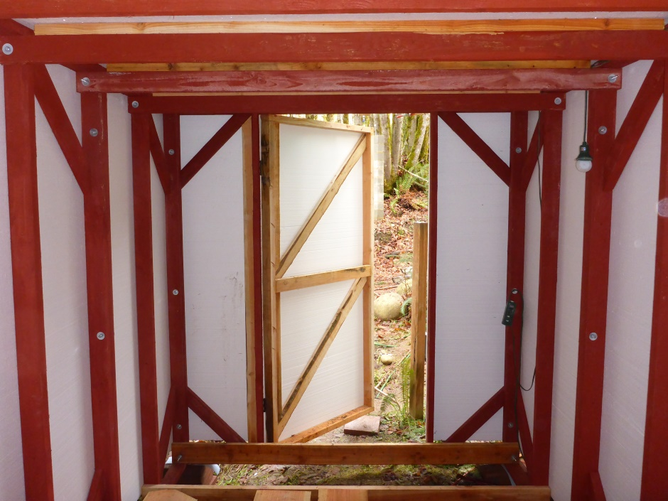 Simple Shed Door From Inside