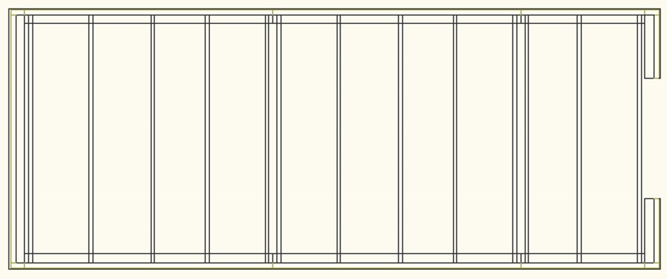 Simple Shed Plan Drawing