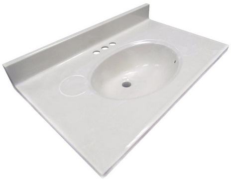 Sink Cultured Marble 31in Lowes