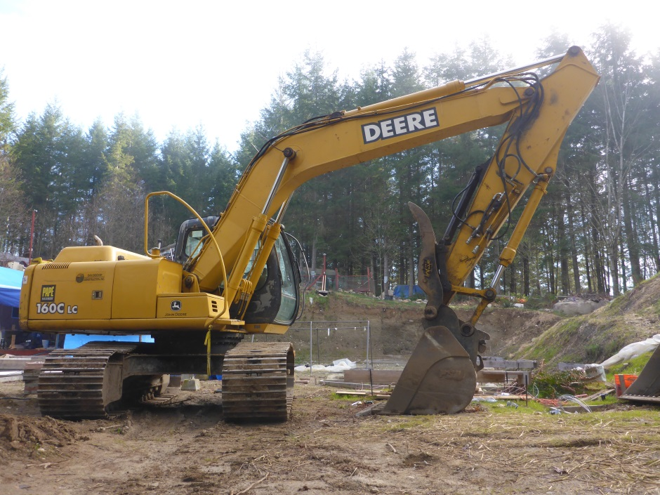 Site Digger For Septic