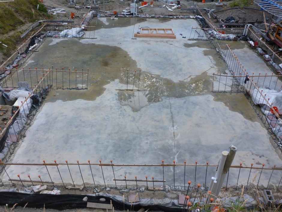 Site Slab Drying End July 27
