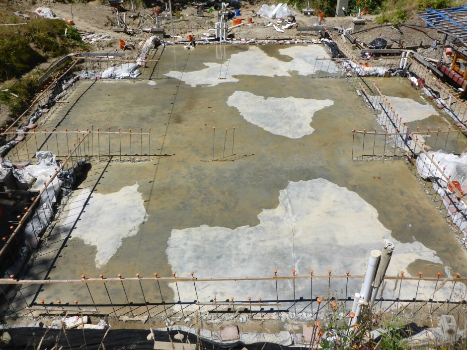 Site Slab Drying Mid July 26