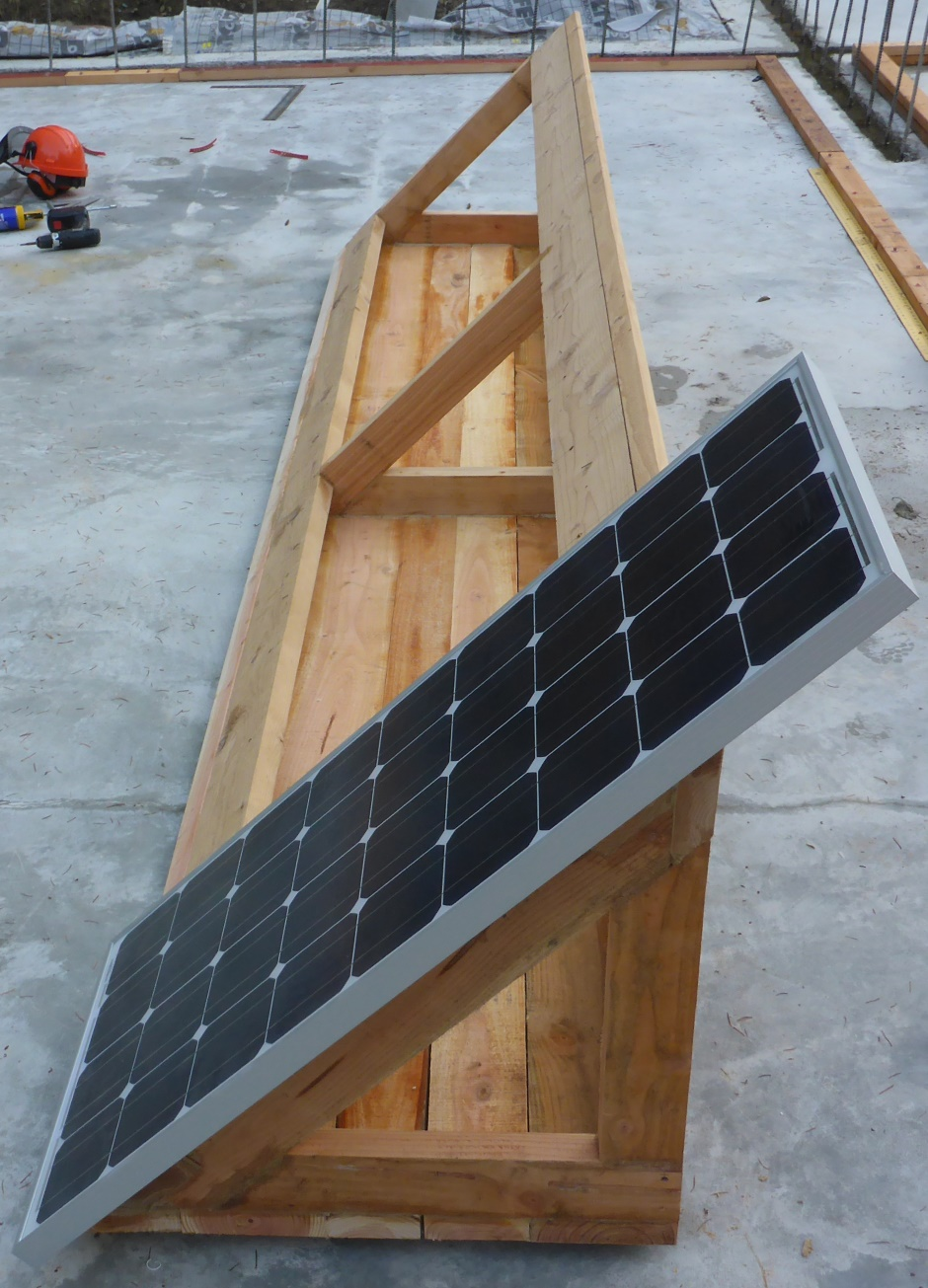 Solar Power Wiring The Into Epanel And Charge Controller On To One Panel Offered Up