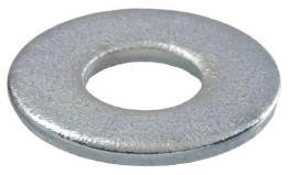 Steel Washer Zinc Plated 3/8in
