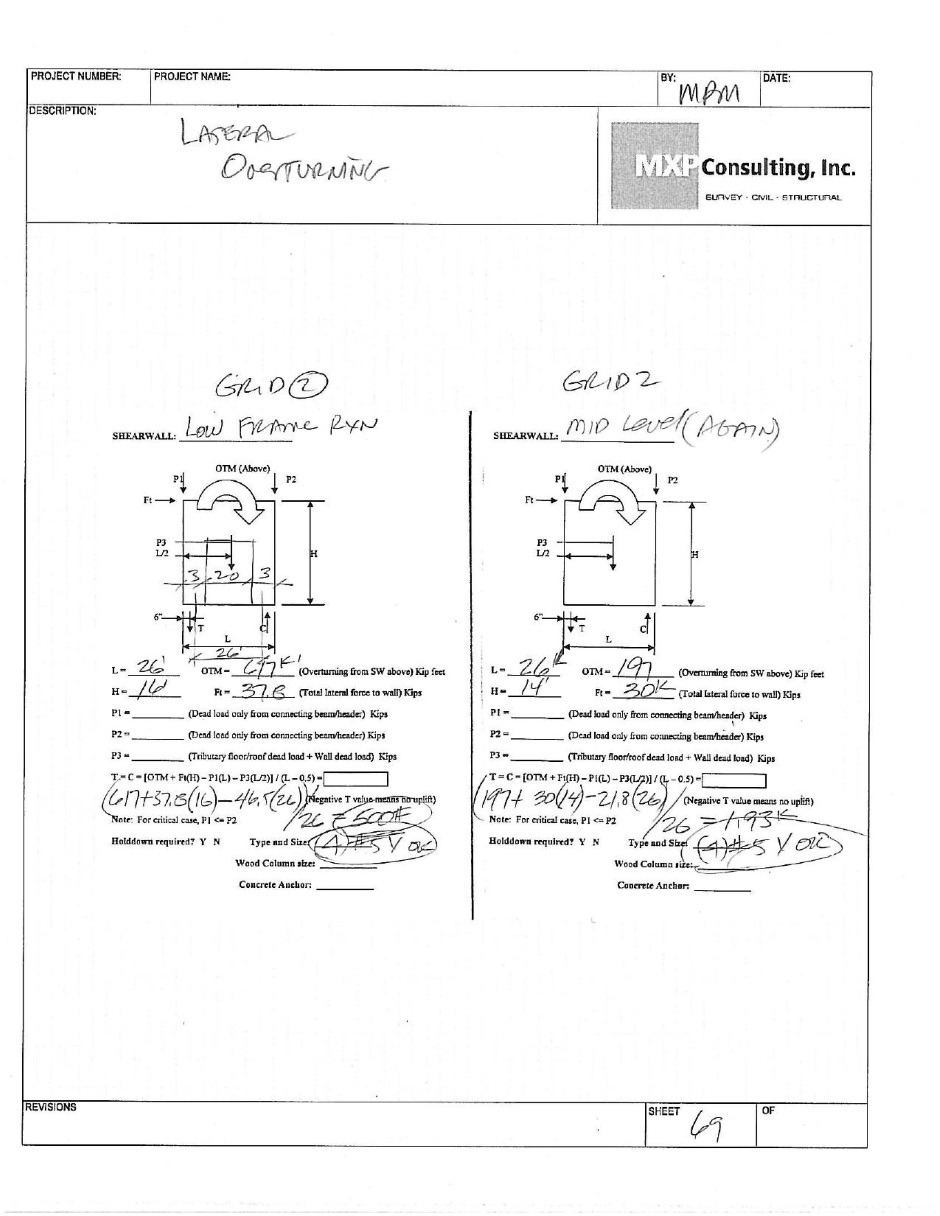 Structural Engineering Calculations : Structural engineering calculations