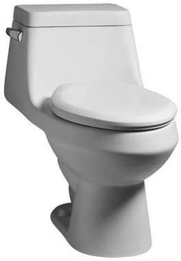 Toilet American Standard One Piece Elongated