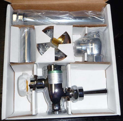 Toto Flushometer packaged