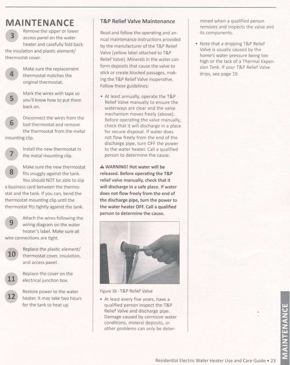 Heating Water Heater Large Ao Smith Wiring Diagram Aosmith Manual 23