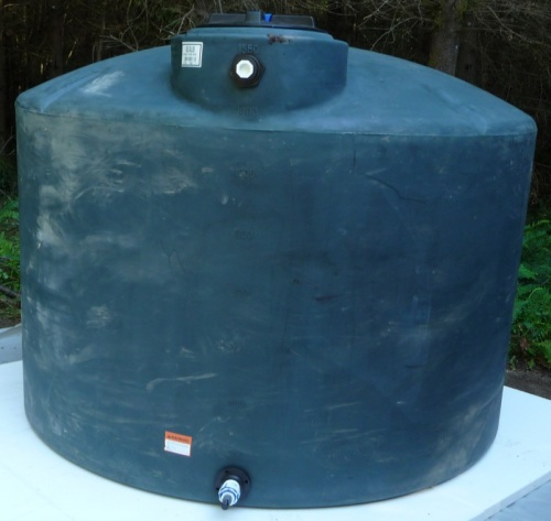 Installing Water Storage Tank Pictures