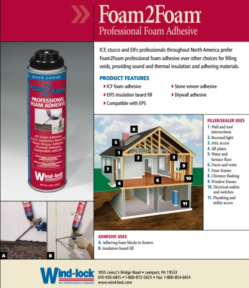 Windlock Foam Adhesive Brochure 1
