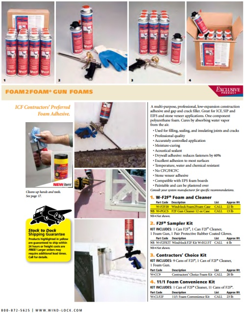 Windlock Foam Adhesive Brochure 3