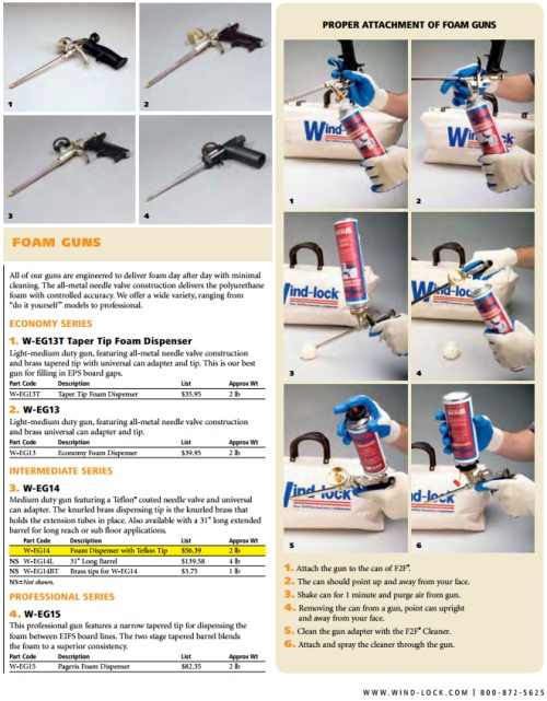 Windlock Foam Adhesive Brochure 4