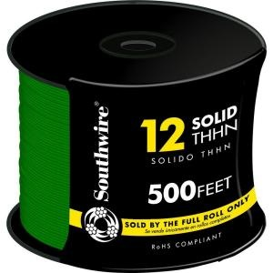 Wire THHN/THWN 12 gauge green