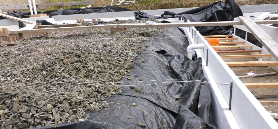 Wires Across Slab Area
